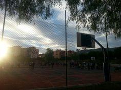 Cancha deportiva de ciudad jardin