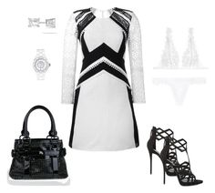 """""""Out & About"""" by chic-splendor on Polyvore featuring Burberry, Giuseppe Zanotti, Chanel, La Perla and Allurez"""