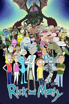 "$3.99 - Rick And Morty Movie Poster Fridge Magnet 3.5"" X 2.5"" #ebay #Collectibles"