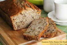 Cinnamon-Toffee Banana Nut Bread
