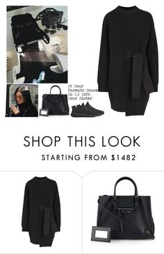 """""""At Your Parents House In L.A With Your Sister"""" by britneygeminigirl ❤ liked on Polyvore featuring Proenza Schouler, Balenciaga and adidas Originals"""