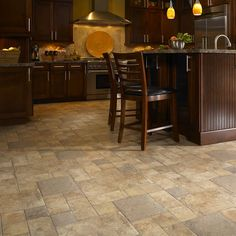 Laminate floors provide the look and feel of rare exotic wood or