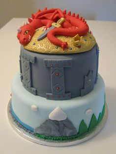 The Triumph of Smaug Cake