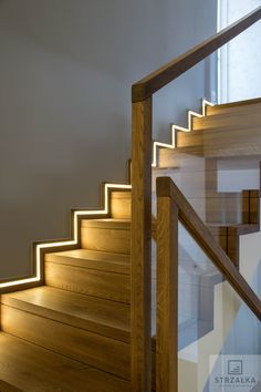 # stairs # carpet # modern stairs # balustrade # glass # wood # led # oak stairs # stairs # modern # ContemporaryStaircase # balustrade # glassbalustrade # wood # Carpet stairs made of oiled oak. Tempered glass railing with wooden handrail. Stair Railing Design, Home Stairs Design, Staircase Railings, Interior Stairs, House Design, Stairways, Glass Railing, Wood And Carpet Stairs, Oak Stairs