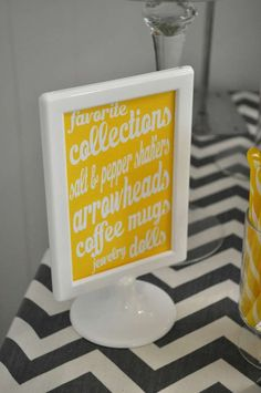 Few of My Favorite Things Birthday Party Ideas   Photo 1 of 26