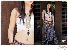 Modern gypsy fashion