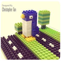 nanoblock Penguin from Crossy Road game