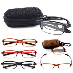 Eyeglasses Eyewear Resin Fashion Fold Presbyopic Glasses Reading Glasses Classic  | eBay