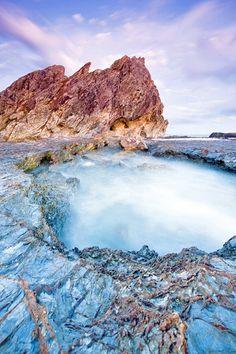 Currumbin Rock Currumbin, Gold Coast, Queensland, Australia