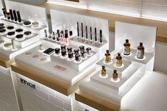 ISAKU DESIGN Isaac Design Design Display, Pop Display, Pop Design, Booth Design, Store Design, Shelf Display, Makeup Display, Cosmetic Display, Cosmetic Shop
