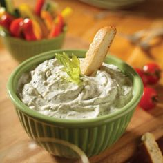 Asiago Cheese & Spinach Dip Mix. Savour the flavours of this spectacular dip, baked potato topper or sandwich spread.