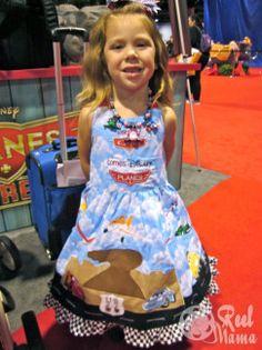 Disney Planes girls dress D23 #DisneyPlanes
