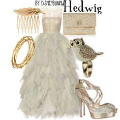 """""""Hedwig"""" by lalakay on Polyvore - THIS DRESS IS SO BEAUTIFUL!"""