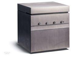AIR by Steininger. Photography by Robert Gortana. Outdoor Kitchen Design, Patio Design, Living Water, Interior Design Magazine, Kitchen And Bath, Outdoor Dining, Kitchen Interior, Cool Kitchens, Designers