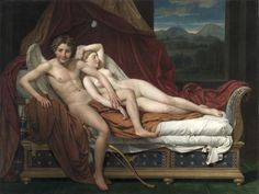 Cupid and Psyche, Jacques-Louis David