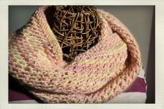Soft Hand Knit Infinity Scarf Neckwarmer in by LilRedKnittingHood, $38.00
