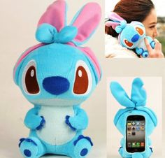 Coque doudou stitch