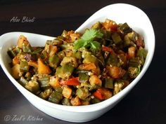 Bhindi !!! My husband just loves it in any form. When I added aloo in bhindi he was on seventh sky. Aloo bhindi is traditional Punjabi recipe. In which we usually fry aloo and bhindi separately. Later on we toss in oil and spices. Here I have posted my version of aloo