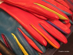 More colourful gloves by Liisa Sauso Gloves, Accessories, Color, Products, Colour, Gadget, Colors, Jewelry Accessories