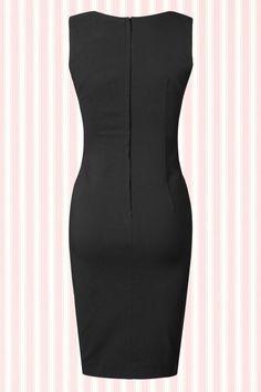 Fever Julia Black Pencil Dress  100 20 13949 20150302 1W