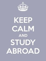 Keep Calm and Study Abroad! Great way to improve a second (third, fourth,.) language, meet new people from all around the world and know different places. Travel Words, Travel Quotes, Wanderlust Quotes, Study Abroad Quotes, Study Abroad London, Keep Calm And Study, Living In London, Keep Calm Quotes, Spain Travel