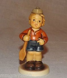 "Adorable Hummel figurine ""First Mate""."