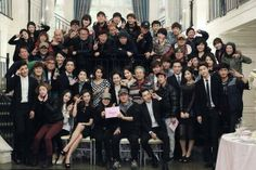 Last pic taken after filming.will be good ending!Thks Kim Eun Suk, casts, crews for Heirs!