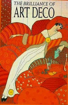 the brilliance of Art Deco by Julian Robertson. A very good book on art deco graphic design and fashion. The cover image is by Georges Lepape Art Nouveau Pintura, Arte Art Deco, Art Deco Era, Art Deco Illustration, Art Deco Posters, Poster Prints, Bijoux Art Deco, Art Deco Stil, Art Vintage