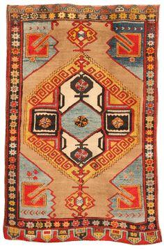 Turkish Karapinar rug, early 20th century