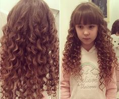 Loose Curls For Little Girls Hairstyles For School, Hairstyles Haircuts, Straight Hairstyles, Kids Girl Haircuts, Loose Curls, Hair Art, Wavy Hair, Short Hair Cuts, Curly