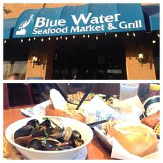 Check Out Blue Water Seafood in San Diego, CA as seen on Diners, Drive-ins and Dives and featured on TVFoodMaps.