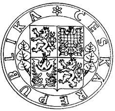 československá a česká historie - Státní symboly České republiky Teaching History, Coat Of Arms, Metal Working, Homeschool, Flag, Let It Be, Praha, Czech Republic, Country