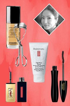 Beauty Swag Makeup Artists Actually Use #refinery29 Elizabeth Arden Eight-Hour Cream, £27, available at Debenhams; Lancôme Hypnôse Mascara, £22.50, available at FeelUnique; YSL Rouge Pur Couture, £25, available at Boots; Suqqu Eyelash Curler, £18, available at Selfridges; Chanel Vitalumiére Foundation, £32, available at Selfridges.