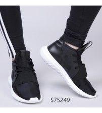 Adidas Tubular Defiant Women Shoes Core Black White S75249 Outlet Adidas Tubular Shadow, Sale Uk, Shoes Outlet, Adidas Women, Adidas Sneakers, Core, Black And White, Fashion, Moda
