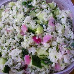 Gurkensalat mit Reis @ de.allrecipes.com