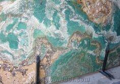 turquoise granite slabs - Google Search Turquoise onyx slab