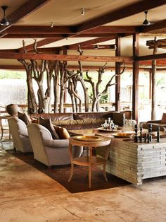 kings pool camp, linyanti, botswana. Pin repinned by Zimbabwe Artisan Alliance.