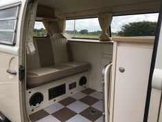 Interiors for the Left Hand Drive vehicle - The Camper Shak - Hand Crafted VW Camper Interiors