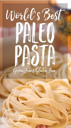 World& Best Paleo Pasta Dough {Grain-Free & Gluten-Free} - Health Starts in. World& Best Paleo Pasta Dough {Grain-Free & Gluten-Free} - Health Starts in the Kitchen Source by selenasakal CLICK Image f. Pasta Recipes, Diet Recipes, Cooking Recipes, Healthy Recipes, Primal Recipes, Paleo Ideas, Best Gluten Free Recipes, Microwave Recipes, Pasta Casera