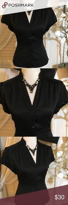 ALFANI SILK BLOUSE Gorgeous blouse , 100% silk , perfect condition Alfani Tops Blouses