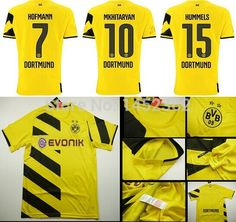3c2c4fe6c64 Find More Sports Jerseys Information about Hot Sale 14/15 Borussia Dortmund  home Thailand AAA+