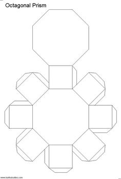 Paper model of a octagonal prism. The octagonal prism is made of two octagonal bases and eight rectangular sides. Nets (templates) and pictures of the paper octagonal prism. Miraculous Ladybug Villains, Geometric Origami, Bff Birthday Gift, Princess Toys, Miraculous Wallpaper, Cardboard Gift Boxes, Concrete Crafts, Cricut Craft Room, Origami Box