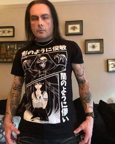 Dani Filth, Cradle Of Filth, Mens Tops, T Shirt, Fashion, Supreme T Shirt, Moda, Tee Shirt, Fashion Styles