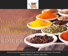 Make Your Food More Tastier With Easy Price Spices. :)  👌