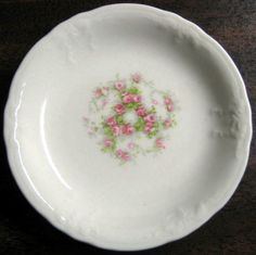 Decorative Dishes - Tiny Swirl of Roses Butter Pat Miniature Dish FREE SHIP, $6.99 (http://www.decorativedishes.net/tiny-swirl-of-roses-butter-pat-miniature-dish-free-ship/)