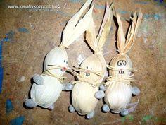 Húsvéti pályázat - Csuhé nyuszik - Kész