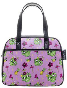 Sourpuss Zombie Drinks Bowler Bag