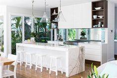 Opciones para una isla en la cocina - Living - ESPACIO LIVING