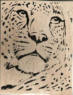 leopard - Breighner Woodworking/Jerry Britner - User Gallery - Scroll Saw Village