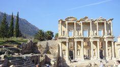 Ancient ruins of Ephesus in Kusadasi, Turkey